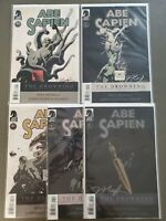 ABE SAPIEN THE DROWNING 1-5 COMPLETE SET Jason Shawn Alexander Autographed VF