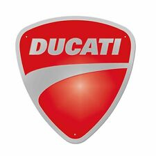 Ducati 987691017 Company Metal Shield Deco Sign Metal Sign Shield Metal Sign