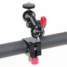 """US CAMVATE 1/4"""" 360 Rotating Monitor Mount Rod Clamp Clip for DJI Ronin-M Gimbal"""