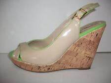 Tommy Hilfiger Wedge Peep Toe Womens Shoe Size 7.5 M