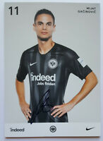 ⭐⭐⭐⭐ Mijat Gacinovic ⭐⭐⭐ Autogramm Autogrammkarte ⭐⭐⭐ Eintracht Frankfurt⭐⭐⭐⭐