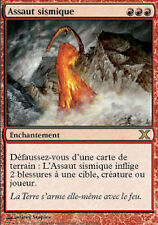 MRM FRENCH Assaut sismique - Seismic Assault MTG magic X edition