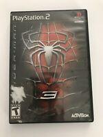 Spider-man 3 (Sony Playstation 2, 2007) PS2