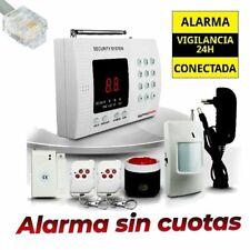 Central de alarma para casas mediante linea telefónica fija AZ011 sin cuotas