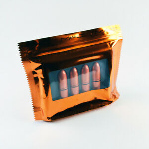 Mac Shiny Pretty Things Party Favours Mini Lipstick: Nude - Set Of 4 Lipsticks