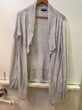 Gap Womens Open Front Cardigan Sweater Light Gray Size Large