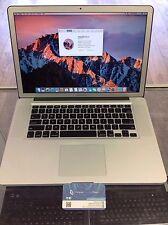 MacBook Pro 15 inch Pre-Retina *Quad Core i7 2.4Ghz* DVD/RW 8GB RAM 750GB HDD.