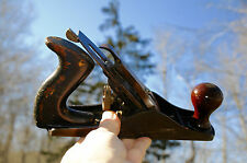 Vintage Stanley Bailey  No. 3 Plane Made In U.S.A. Carpenter Woodworking Tool...