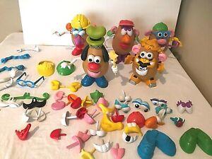 Mr Potato Head Disney Transformers Goofy Toy Story 5 Potatoes 100 Pieces  Lot
