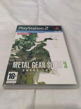 Metal Gear Solid 3 Snake Eater Playstation 2 Konami