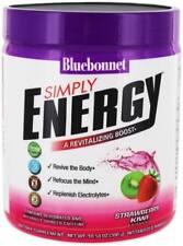 Simply Energy, Blue Bonnet, 10.58 oz tub Strawberry Kiwi