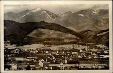 Knittelfeld Austria Steiermark ~1940 Panorama mit Alpen Verlag Ledermann a. Wien