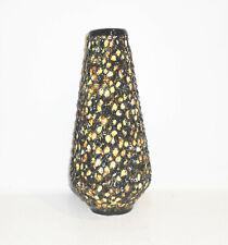 Vintage Vase en Céramique DDR 1950er Faience Déco Mid Century 35 CM