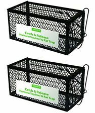 Harris Catch and Release Humane Cage Trap for Rats, Chipmunks, and Small Squirre