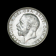 1928 Great Britain Florin silver coin George V AU+/UNC