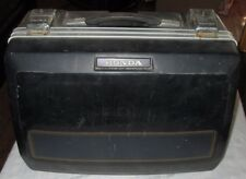 VINTAGE BLACK BLUE GOLD HONDA GOLDWING LUGGAGE SADDLEBAG SINGLE USED TOURING