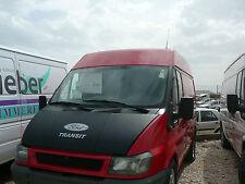 Bonnet Cover Bra  Ford Transit 1999 - 2005 MK6 SILVER LOGO