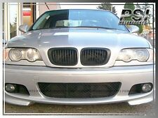 1999-2002 BMW E46 3-Series Before-Facelift Convertible Coupe Matte Black Grille