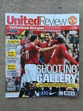 Manchester United v Tottenham Hotspur-Barclays Premiership 2006/07 programa