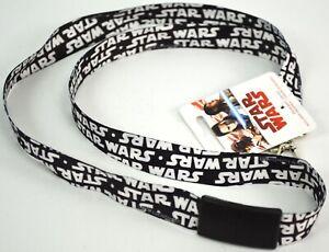 Disney Star Wars Breakaway Lanyard ID Badge Holder Student Neck Strap Key Chain