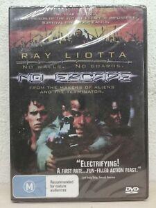 No Escape DVD 1994 Ray Liotta, Lance Henriksen Prison Rare Movie - BRAND NEW