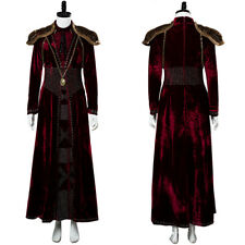 Game of Thrones Season 8 Cersei Lannister Cosplay Costume Dress Gown Full Set