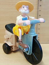 McDonalds Happy Meal Toy BNIP Mint Tarzan PORTER on bike