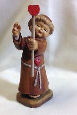 """Anri The Blessing 3"""" Vintage Ferrandiz Hand Carved Maple Figures"""