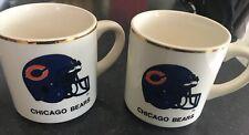 1986 Super Bowl XX 20 Mugs Cups Chicago Bears New England Patriots