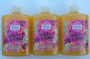 Imperial Leather  Wild Thing,Funky Fruits & Safari Sunsets  3x5000ml