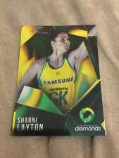 suncorp super netball trading card Australian diamonds Sharni Layton AD-05