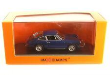 Porsche 911 S (blue) 1964