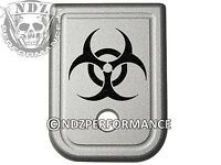 For Glock Magazine 9mm 40 Plate SIL 17 19 22 23 26 27 34 35 Biohazard
