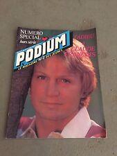 Musique - Podium  magazine - Claude François, numéro spécial - M1