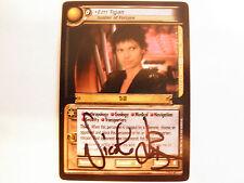 Autographed 2nd edition Star Trek ccg - Ezri  Tigan  (Nicole de Boer)