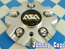 ASA Wheels by BBS Silver Custom Wheel Center Caps #8B313  Center Cap (1)
