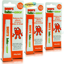 3x Ben's Bens Bite Ezer Reduces The Effects Of Insect Bites & Stings 20g