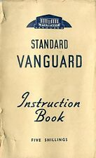 1947 STANDARD VANGUARD INSTRUCTION BOOK OWNER'S MANUAL BETRIEBSANLEITUNG ENGLISH