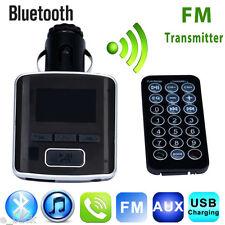 Bluetooth Dual USB Charger LCD Car Kit MP3 Player Handsfree FM Transmitter CA