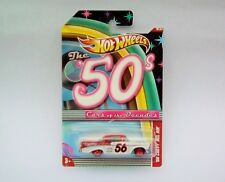 HotWheels Diecast Cars of the Decades (50's) '56 Chevy Bel Air - NEW - Sealed
