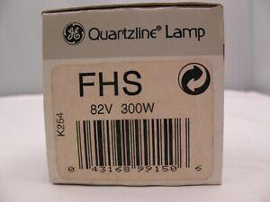GE FHS 82 Volt 300 Watt Lamp Projector bulb NEW (old stock)