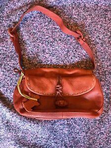 Radley Small Tan Leather Shoulder Bag Adjustable Strap (JFC)