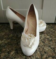 UNISA Marfil Cuero Zapatos De Boda Talla 39