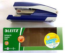 Leitz Heftgerät Stapler Hefter 5502 Blau 30 Seiten