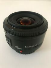 Objectif Autofocus YONGNUO for CANON 35mm F2. TBE