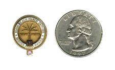 Miami Beach Service Award - 15 Years - 10K Gold Lapel Pin