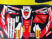 Honda crf450r Rx 2017-2018 gráficos equipo Honda HRC Pegatina Gráfico Kit Kit