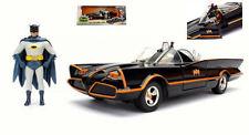 Batmobile 1966 Classic TV Series w/ Figure Batman + Robin New 2017 1:24 Model