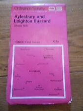 Ordnance Survey Landranger First Series Map Sheet 165 Aylesbury Leighton Buzzard