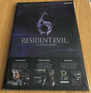 Resident Evil 6: Graphical Guide by Capcom New & Sealed